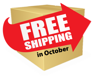 Free Shipping October