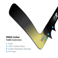 9985G Carbon | Shaft layers