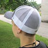 CAP white & grey